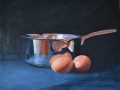 Eggs and Pan Still Life - SOLD