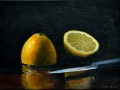 Lemon and Knife - SOLD
