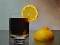 Lemon and Glass Still Life - SOLD