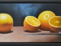 Oranges and Knife Still Life - SOLD