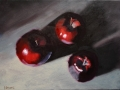 Red Apple Still Life - SOLD
